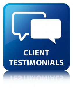 An icon for the customer testimonials at Nanaimo Airporter